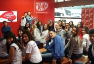 Estudantes aprenderam sobre o processo da fabricação de chocolates. (Foto: Alessandra de Souza)